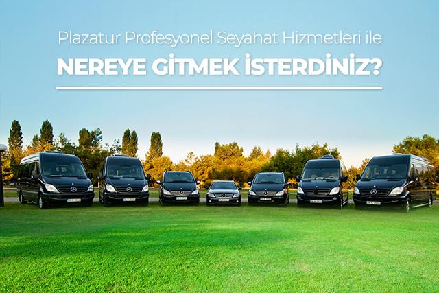 VIP transfer hizmetleri